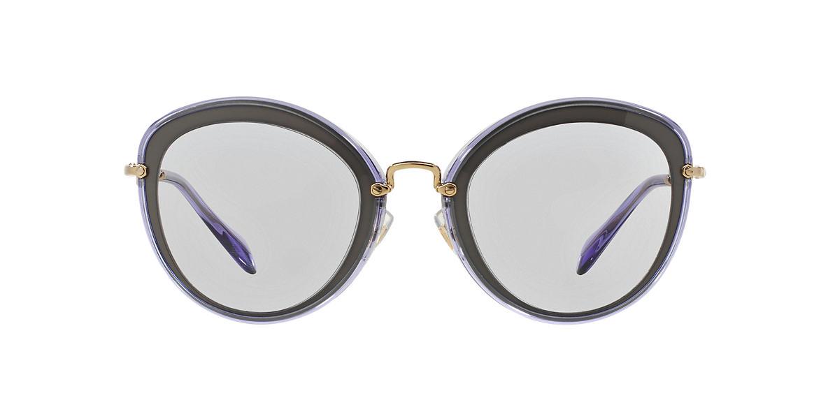 MIU MIU Multicolor MU 50RS 54 Purple lenses 54mm