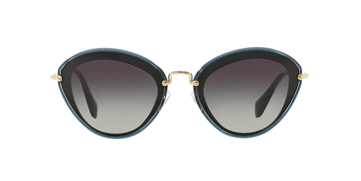 MIU MIU Black MU 51RS 52 Grey lenses 52mm
