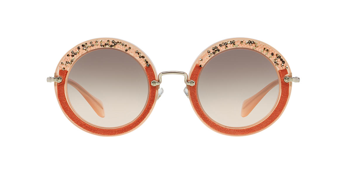 MIU MIU Pink MU 08RS 49 Pink lenses 49mm