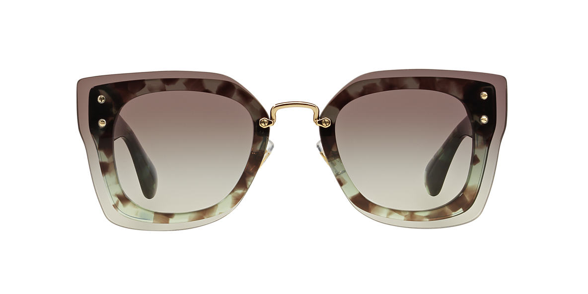 MIU MIU Green MU 04RS 67 Grey lenses 67mm