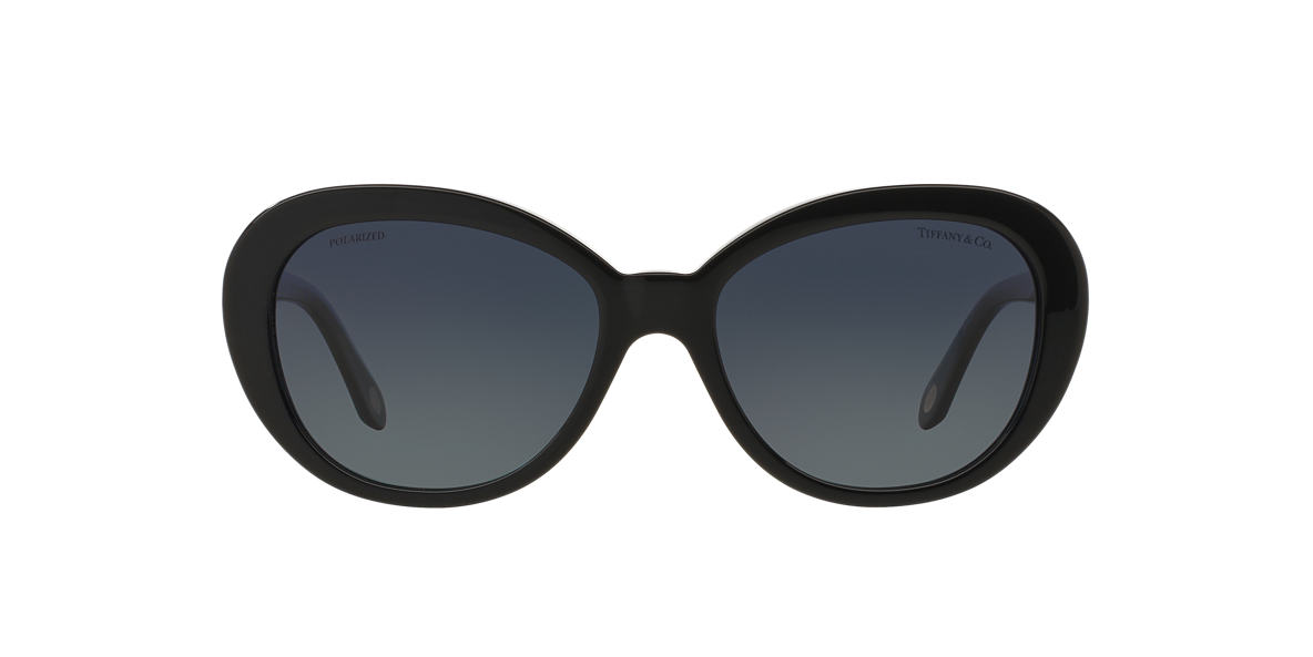 TIFFANY Black TF4118B 55 Blue polarised lenses 55mm