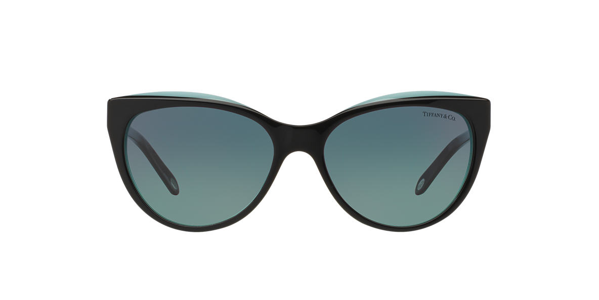 TIFFANY & CO Black TF4119 Blue lenses 56mm