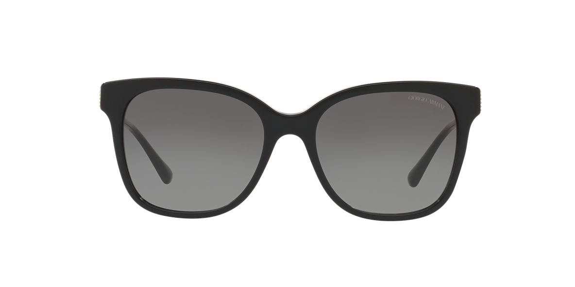 GIORGIO ARMANI Black AR8074 54 Grey lenses 54mm
