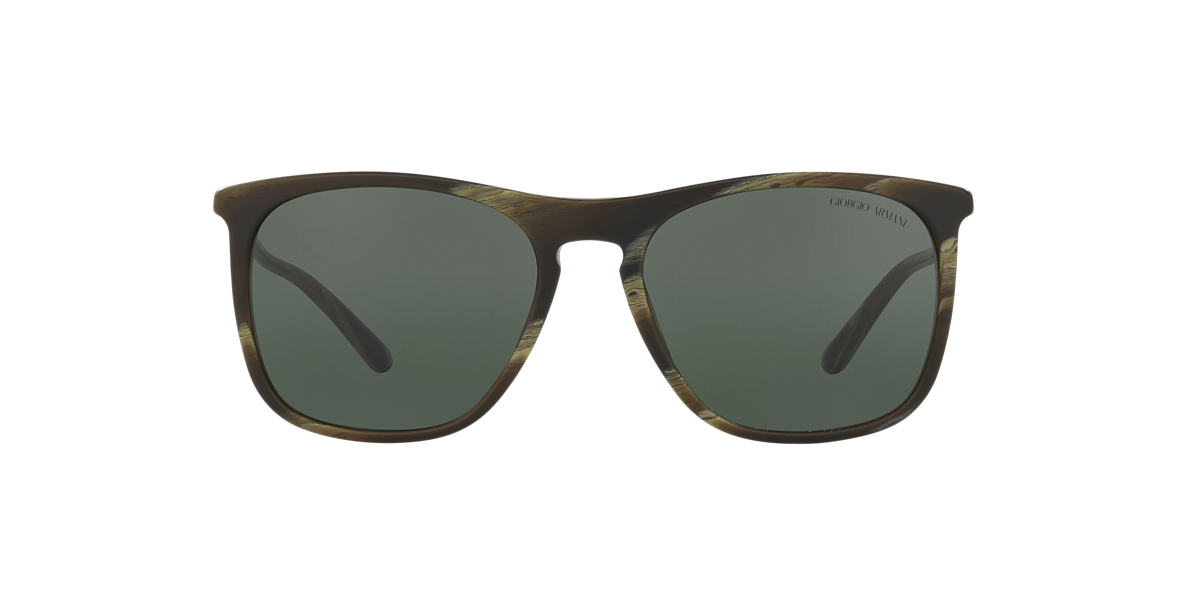 GIORGIO ARMANI Green AR8076 55 Grey lenses 55mm