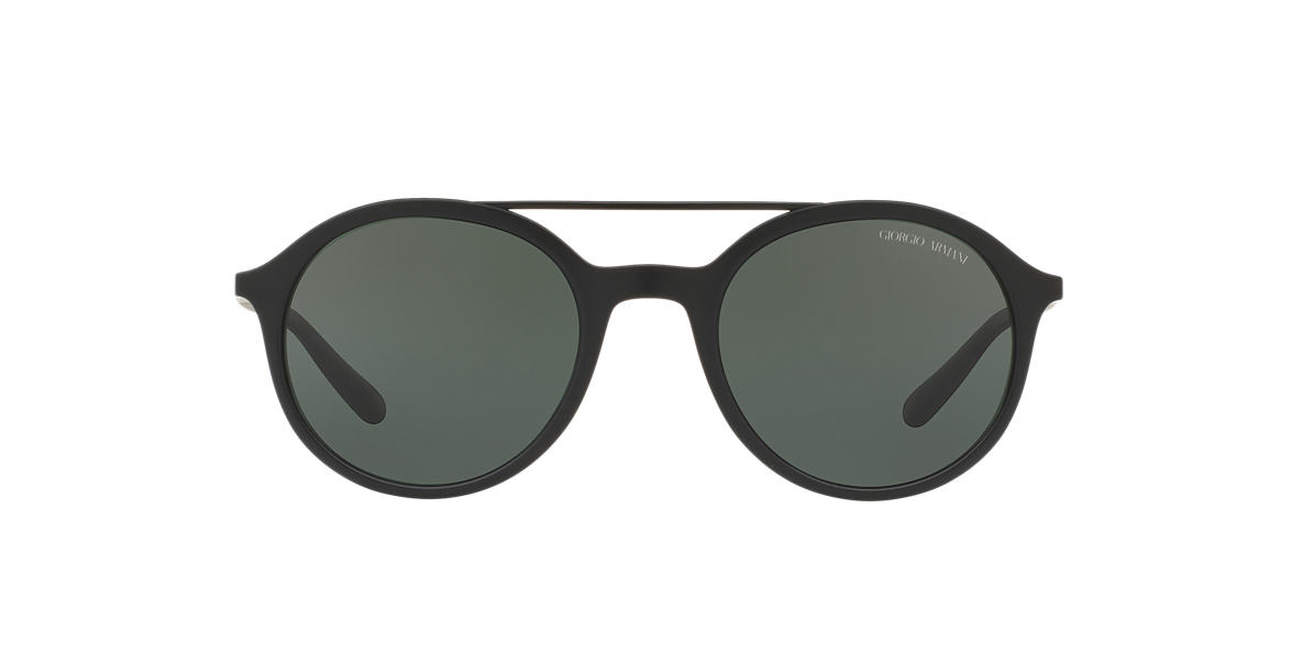 GIORGIO ARMANI Black Matte AR8077 50 Grey lenses 50mm
