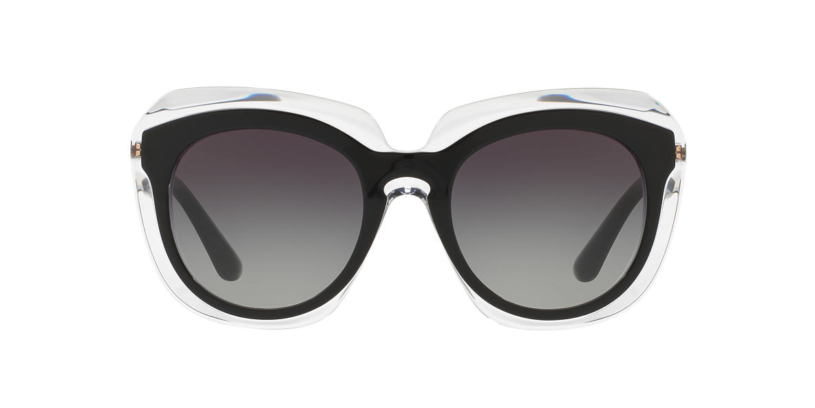DOLCE and GABBANA Black DG4282 54 Grey lenses 54mm