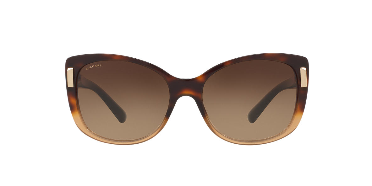 BVLGARI SUN Brown BV8170 57 Brown lenses 57mm
