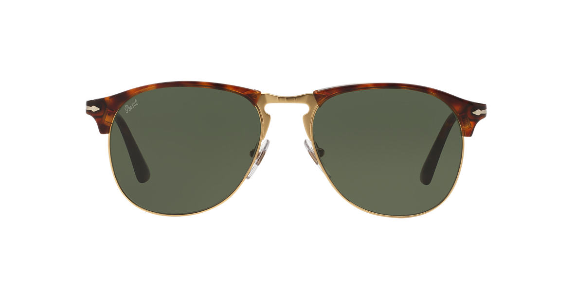 PERSOL Brown PO8649S Green lenses 56mm