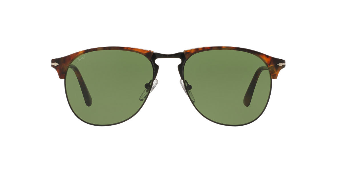 PERSOL Brown PO8649S Green lenses 53mm