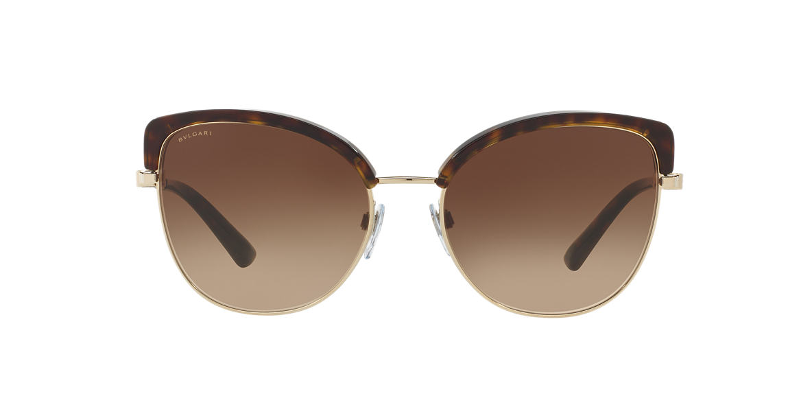 BVLGARI SUN Tortoise BV6082 58 Brown lenses 58mm