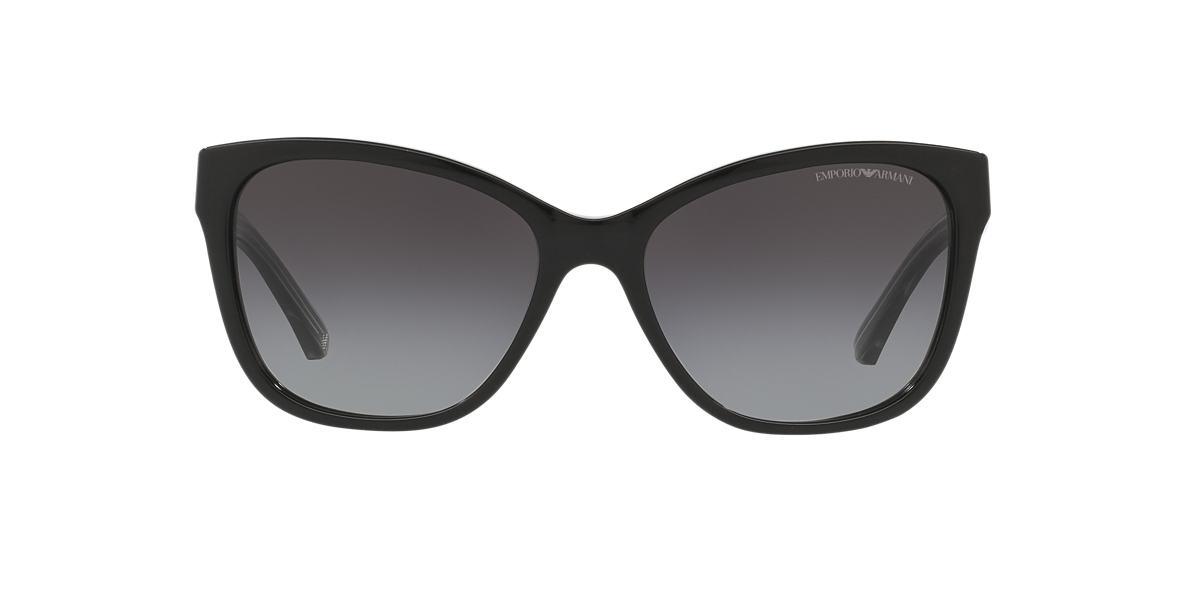 EMPORIO ARMANI Black EA4068 57 Grey lenses 57mm