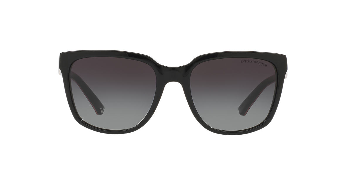 EMPORIO ARMANI Black EA4070 55 Grey lenses 55mm