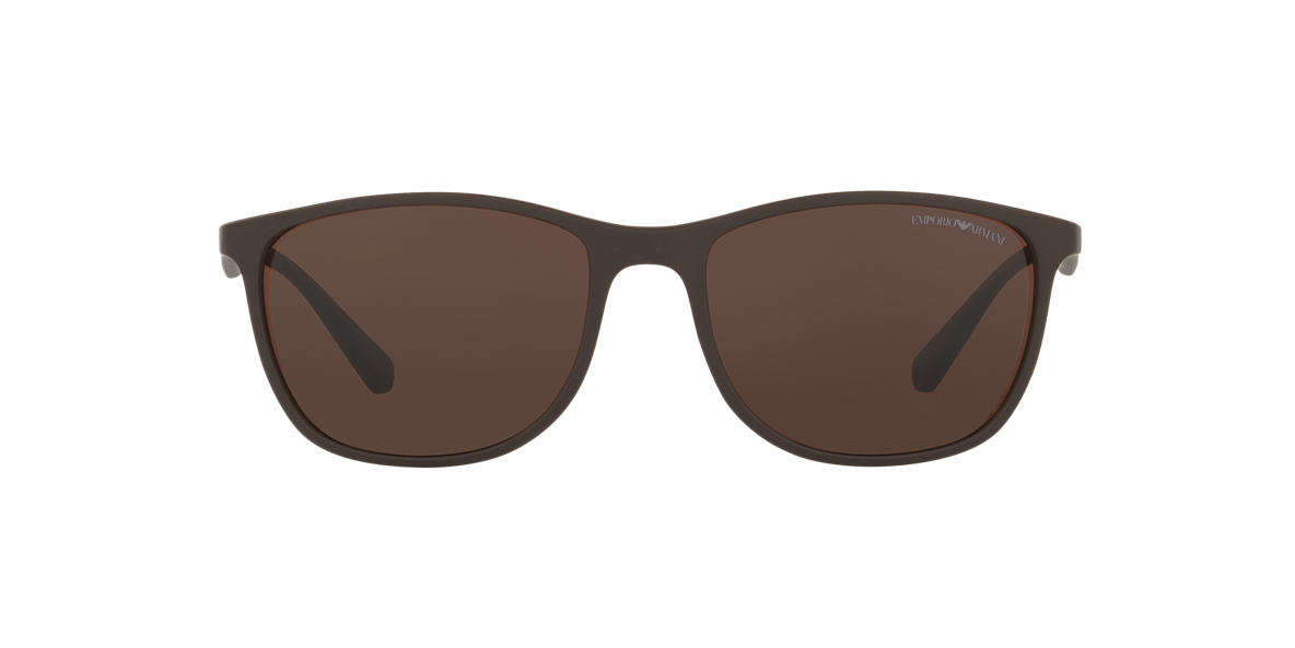 EMPORIO ARMANI Brown EA4074 56 Brown lenses 56mm