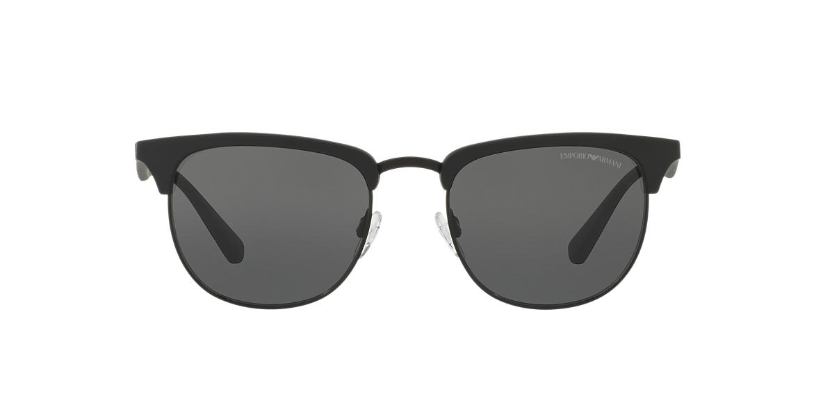 EMPORIO ARMANI Black EA4072 Grey lenses 52mm