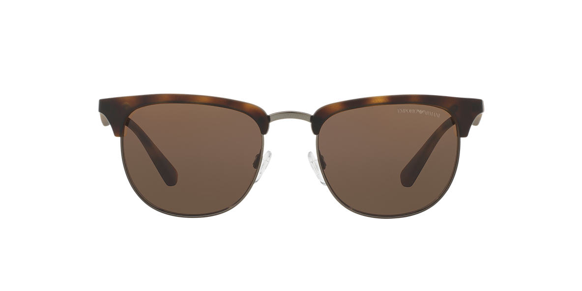 EMPORIO ARMANI Tortoise Matte EA4072 52 Brown lenses 52mm