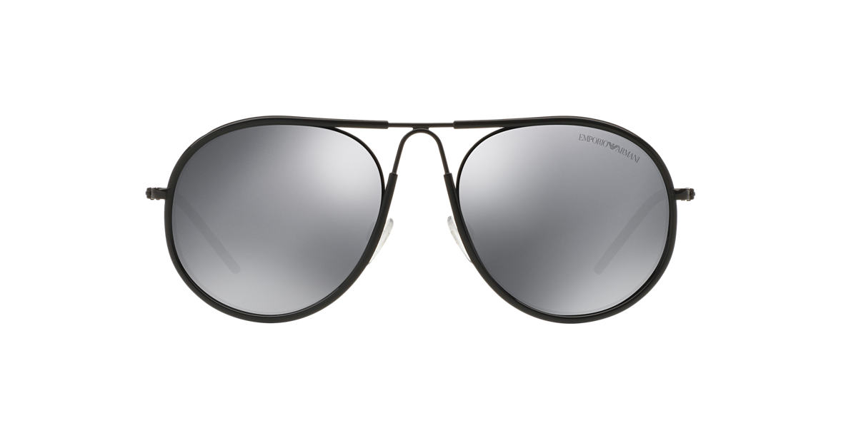 EMPORIO ARMANI Black EA2034 54 Grey lenses 54mm