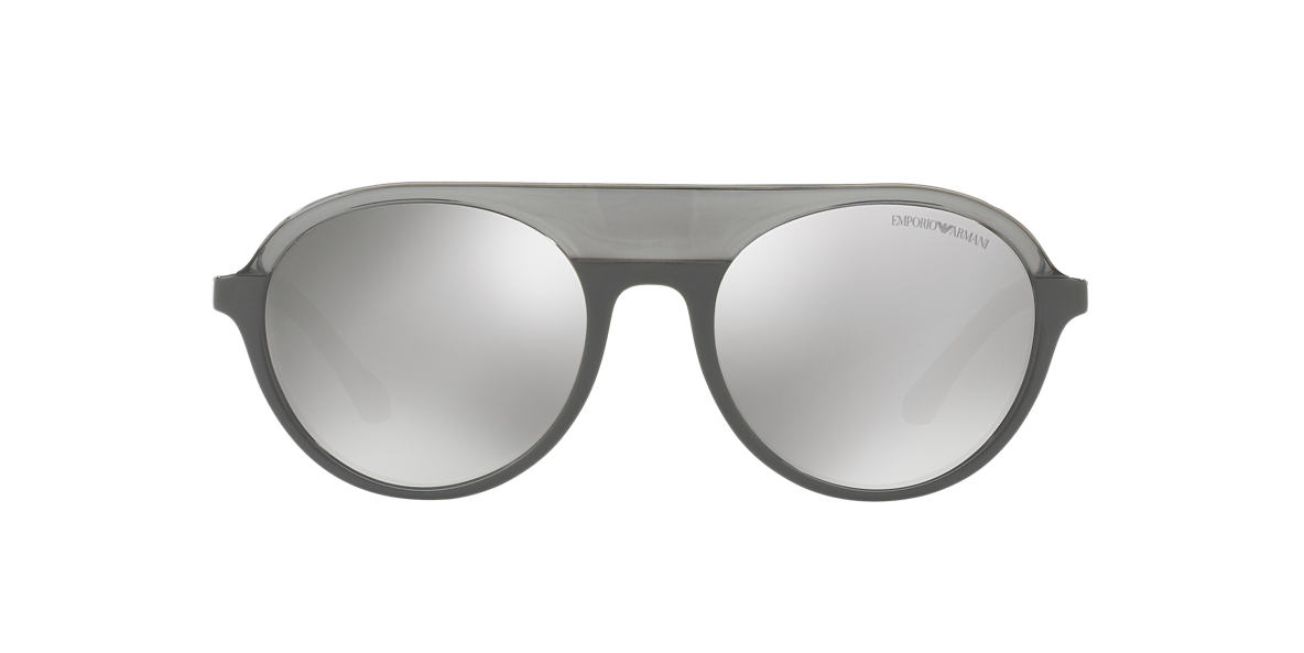 EMPORIO ARMANI Grey EA4067 54 Silver lenses 54mm