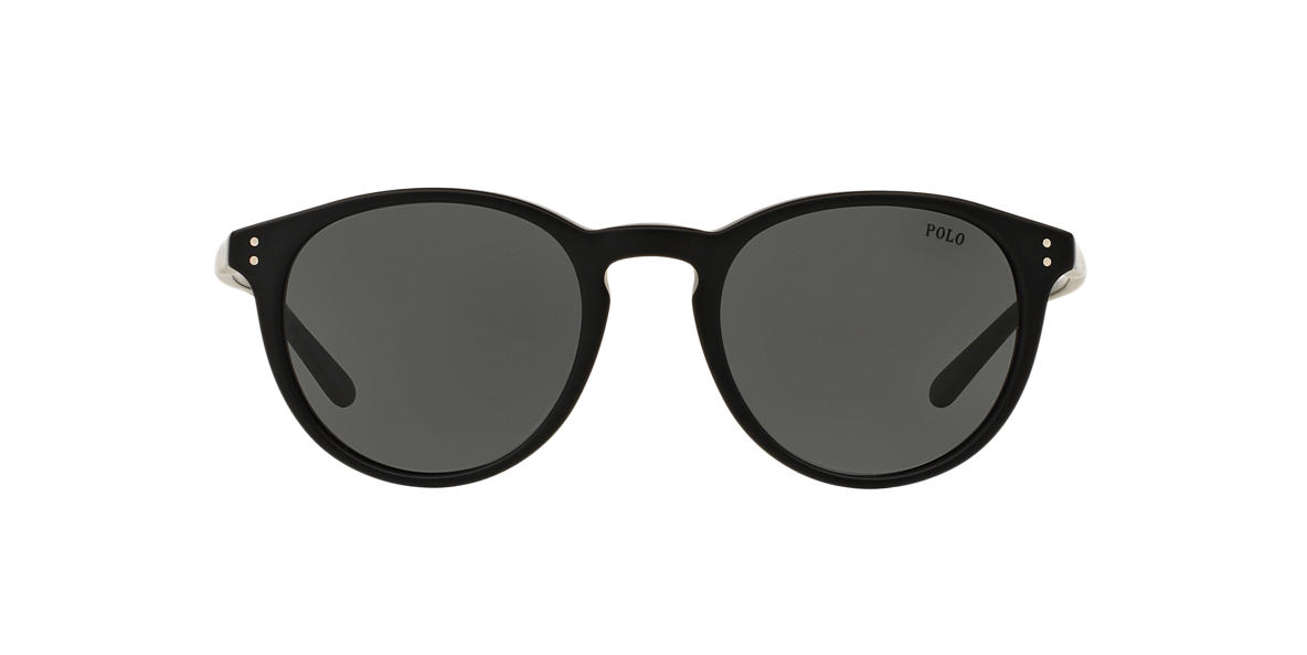 polo ralph lauren ph4110 50 grey black sunglasses. Black Bedroom Furniture Sets. Home Design Ideas