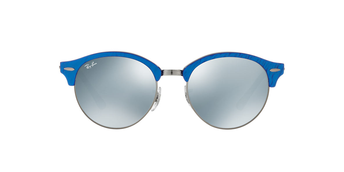 RAY-BAN Blue RB4246 51 Silver lenses 51mm