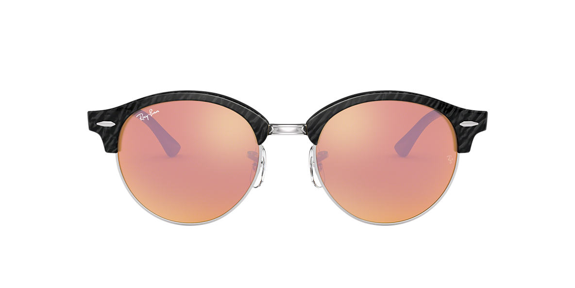 RAY-BAN Black RB4246 51 Pink lenses 51mm