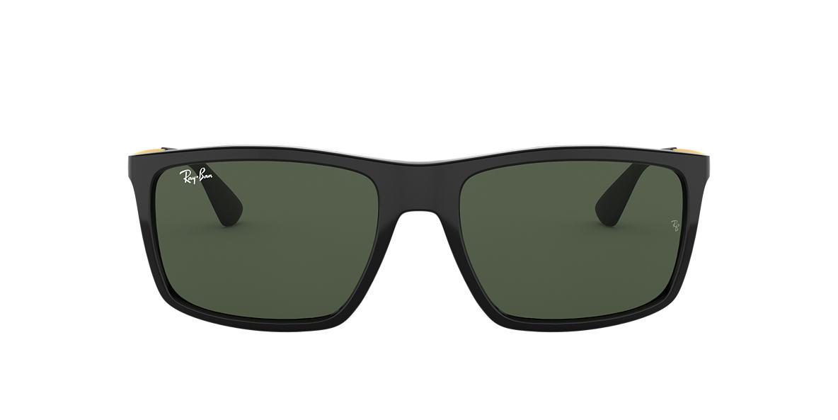 RAY-BAN Black RB4228 58 Green lenses 58mm