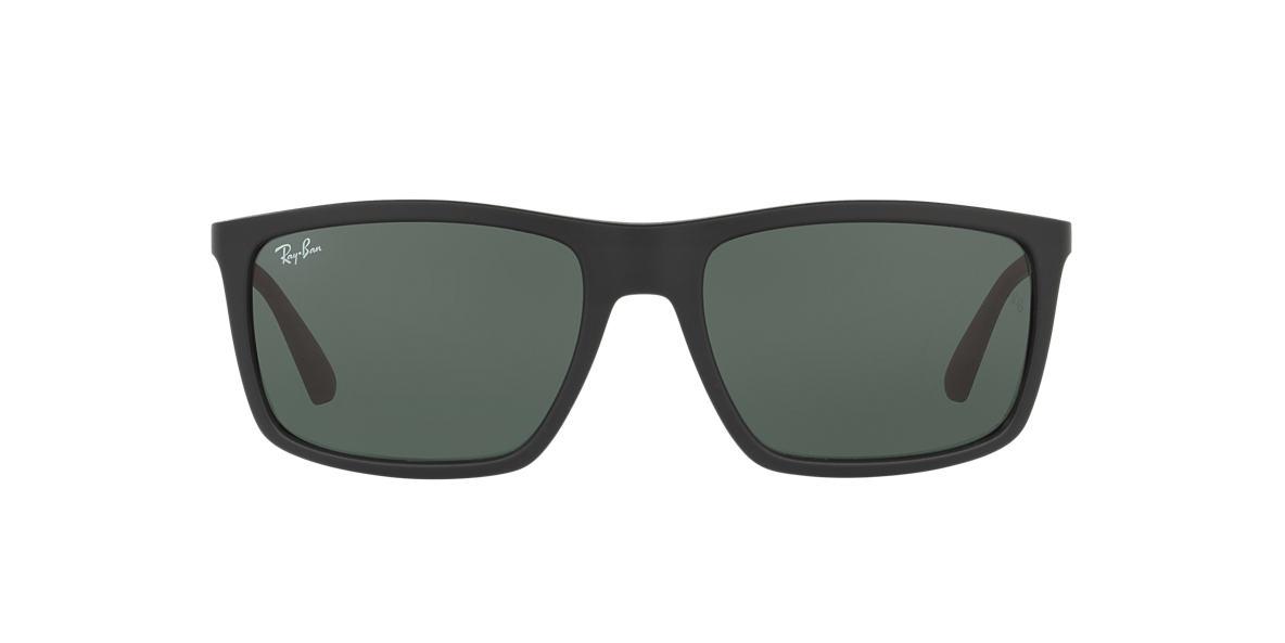 RAY-BAN Black RB4228 58 Green lenses 58mm