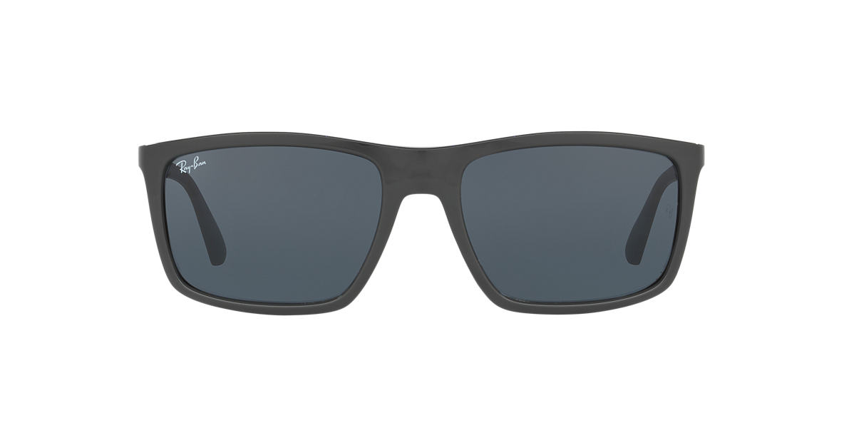RAY-BAN Black RB4228 58 Grey lenses 58mm