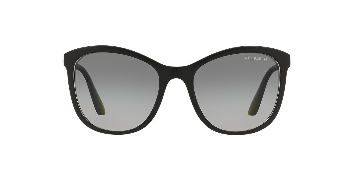 VOGUE Black VO5033S Grey polarised lenses 54mm