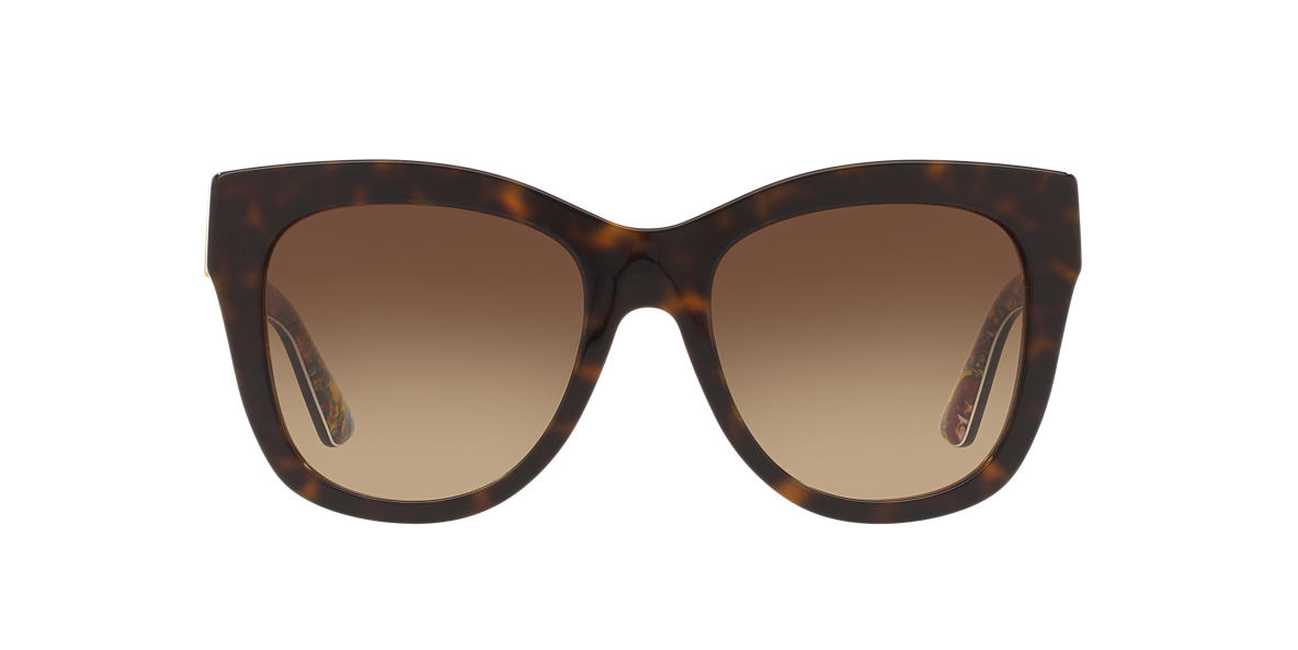 DOLCE AND GABBANA Brown DG4270 55 Brown lenses 55mm