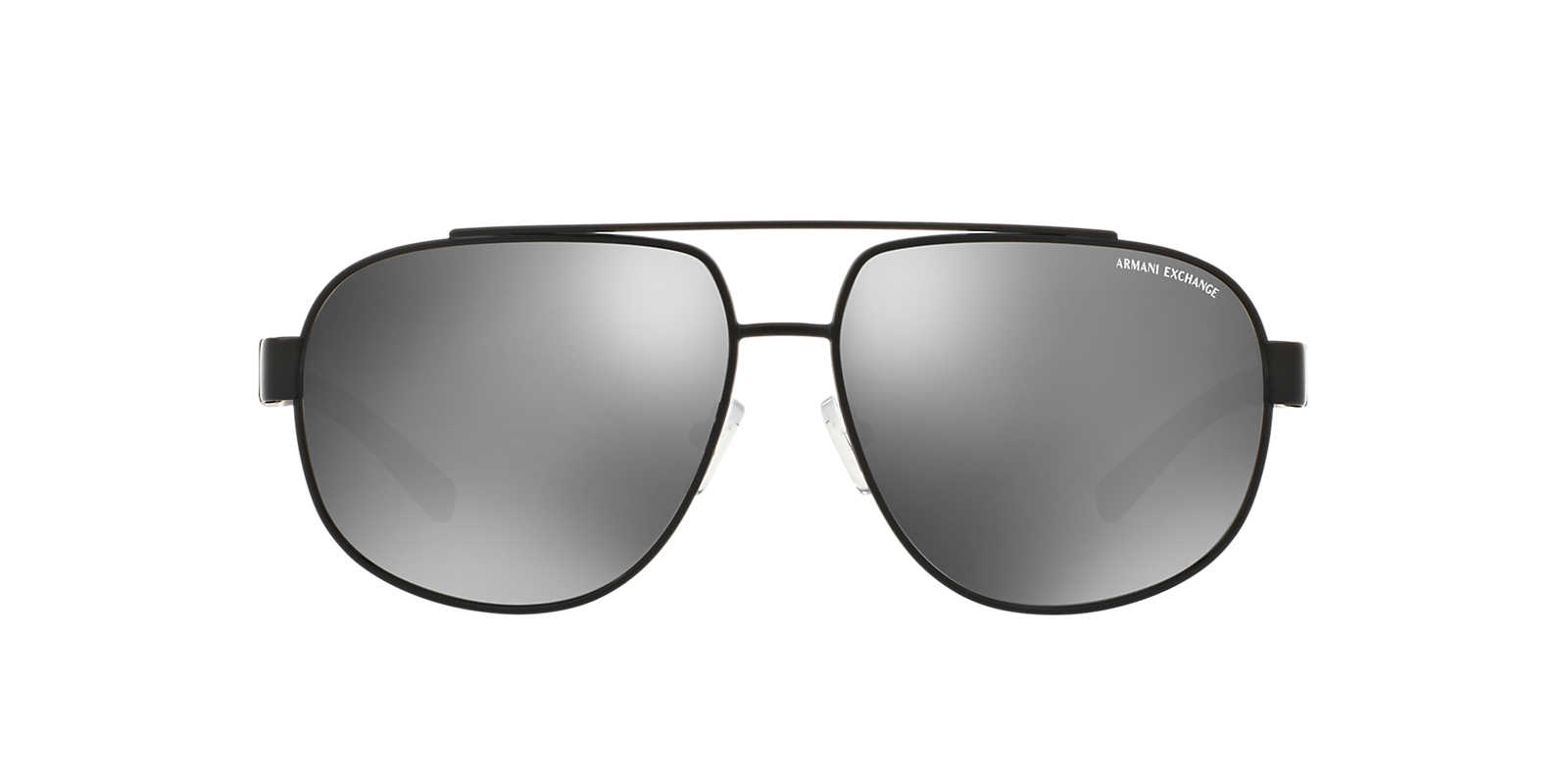 black aviator sunglasses online  Armani Exchange
