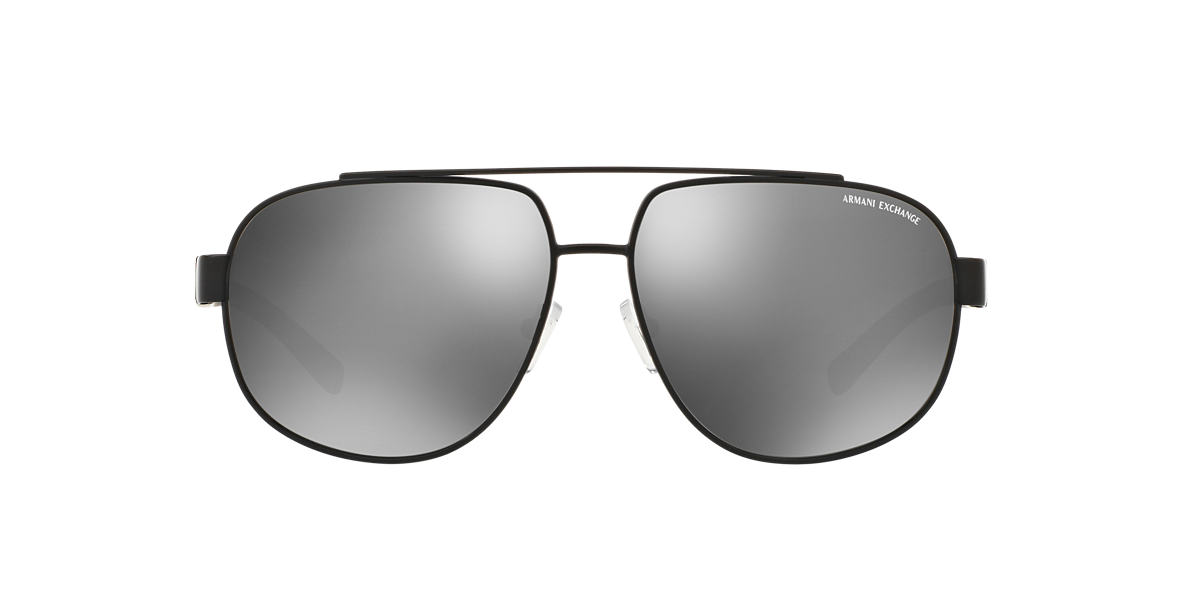 AX Black Matte AX2019S 60 Silver lenses 60mm