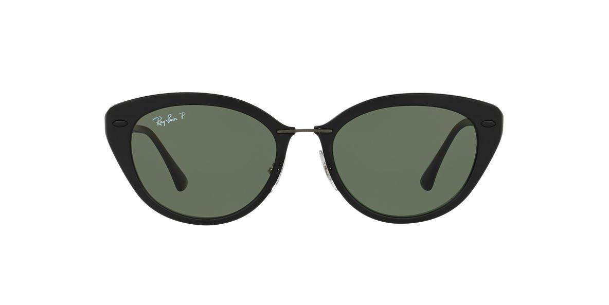 RAY-BAN Black RB4250 52 Green polarised lenses 52mm