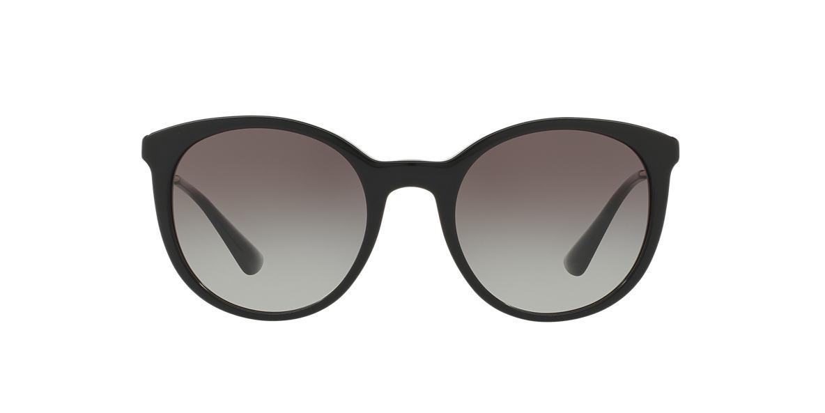 PRADA Black PR 17SS Grey lenses 53mm