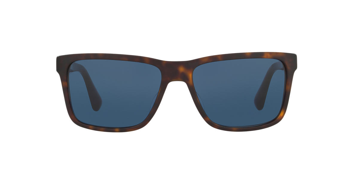 PRADA Brown PR 19SS Blue lenses 59mm