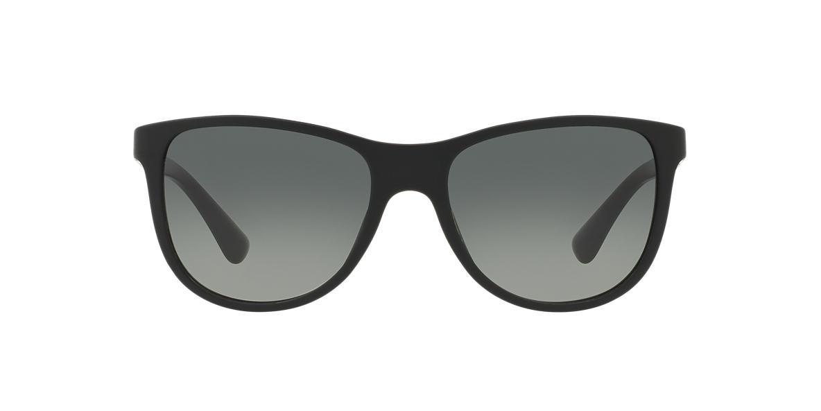 PRADA Black PR 20SS Grey lenses 56mm