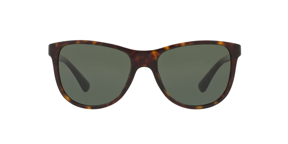 PRADA Brown PR 20SS Green lenses 56mm