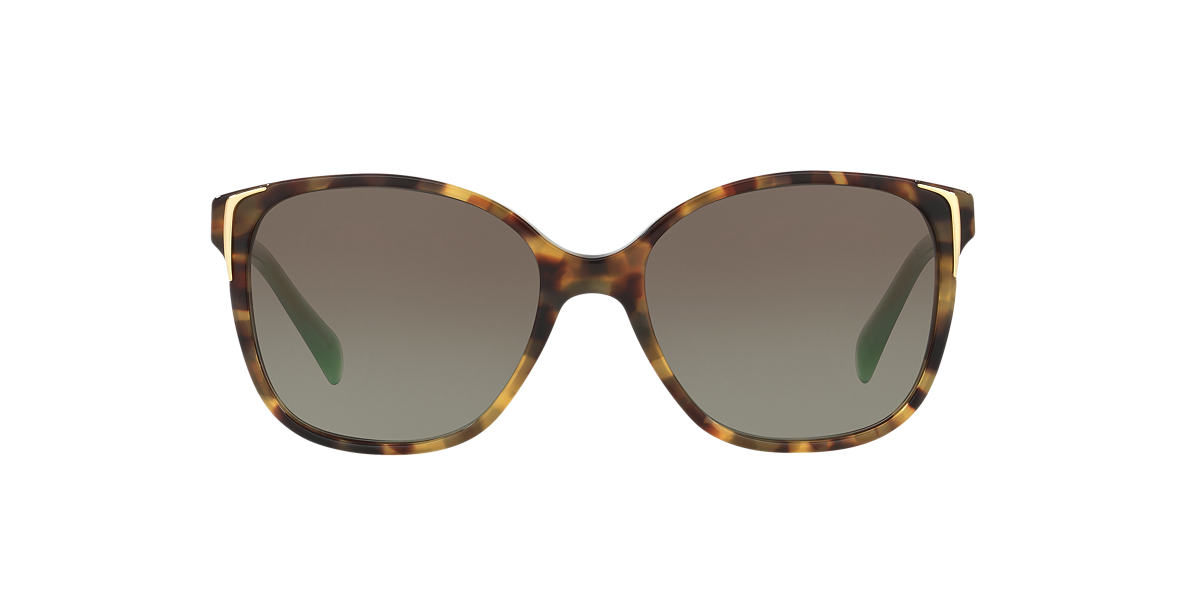 PRADA Brown PR 01OS Green lenses 55mm