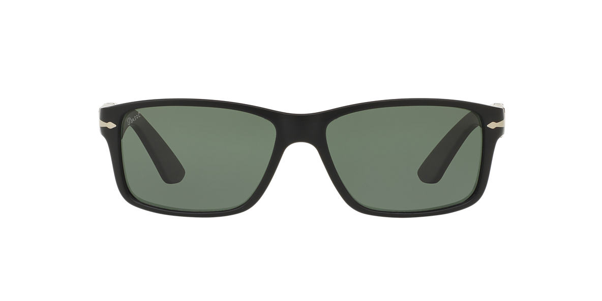PERSOL Black Matte PO3154S 58 Green polarized lenses 58mm