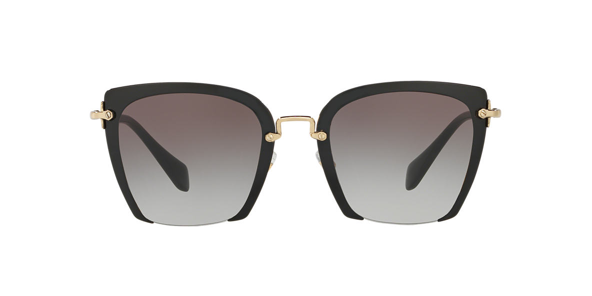MIU MIU Black MU 52RS Grey lenses 52mm