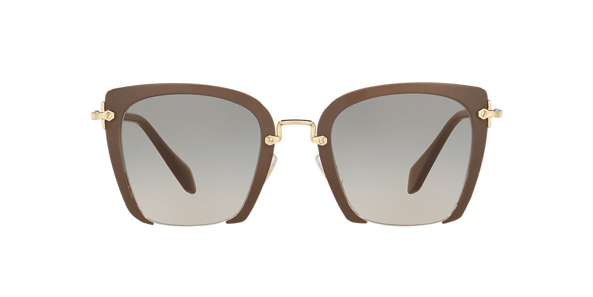MIU MIU Multicolor MU 52RS 52 Brown lenses 52mm