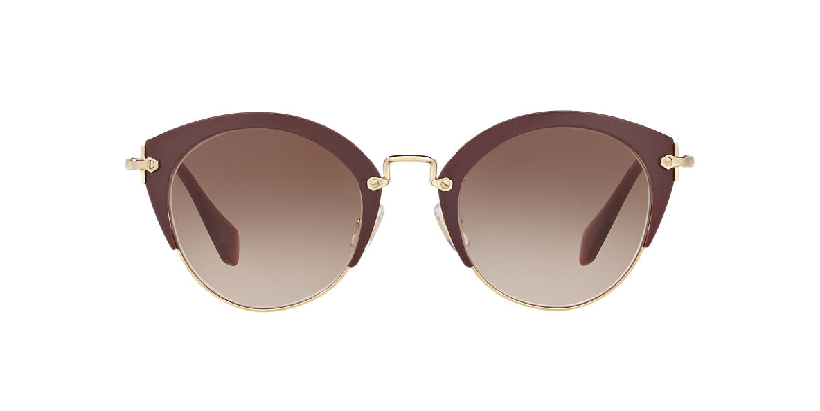 MIU MIU Brown MU 53RS 52 Brown lenses 52mm