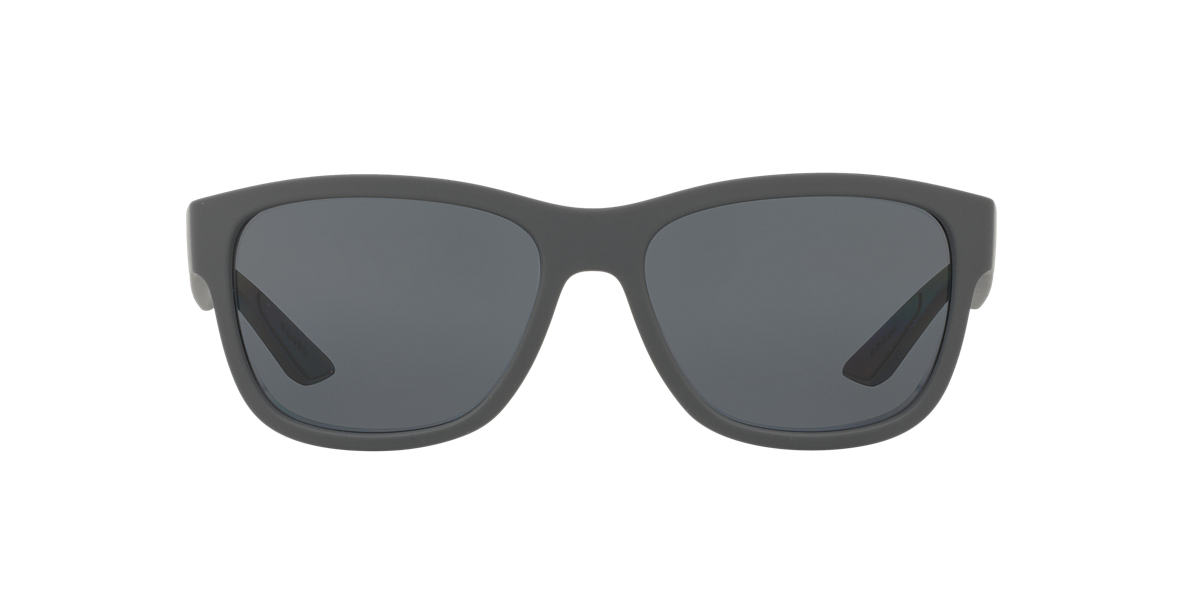 PRADA LINEA ROSSA Grey PS 03QS 57 Grey polarized lenses 57mm