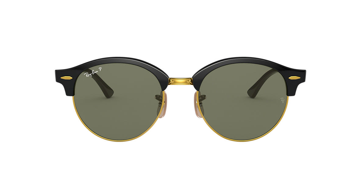 RAY-BAN Black RB4246 Green polarised lenses 51mm