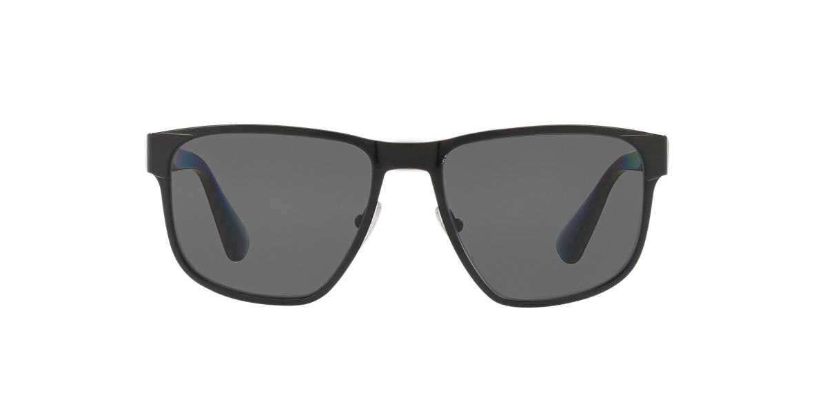 PRADA Black PR 55SS 55 Grey polarized lenses 55mm