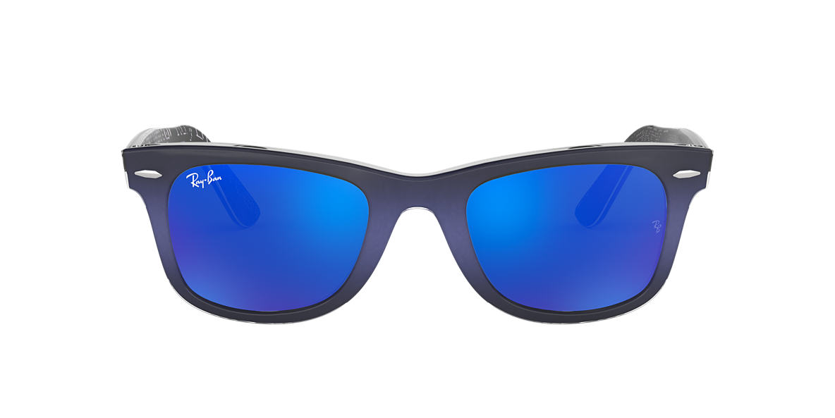 RAY-BAN Blue RB2140 50 ORIGINAL WAYFARER Blue lenses 50mm