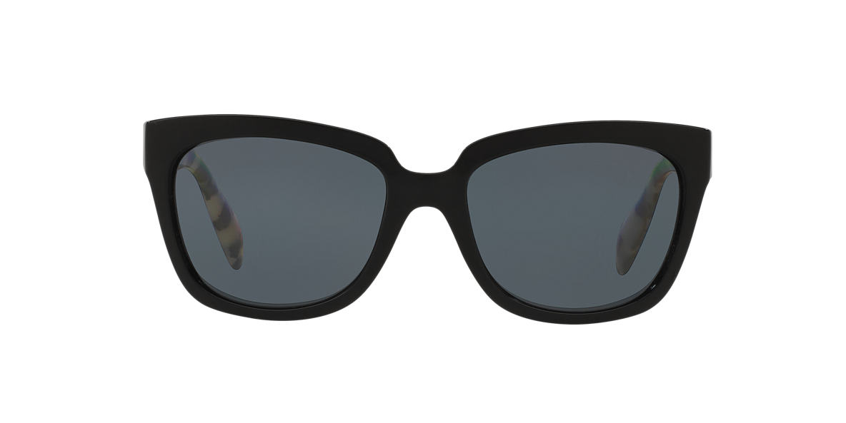 PRADA Black PR 07PS Grey polarised lenses 56mm