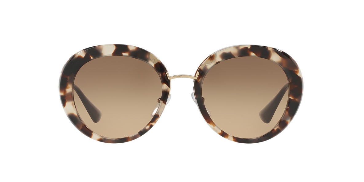 PRADA Black PR 16QS 55 Brown lenses 55mm