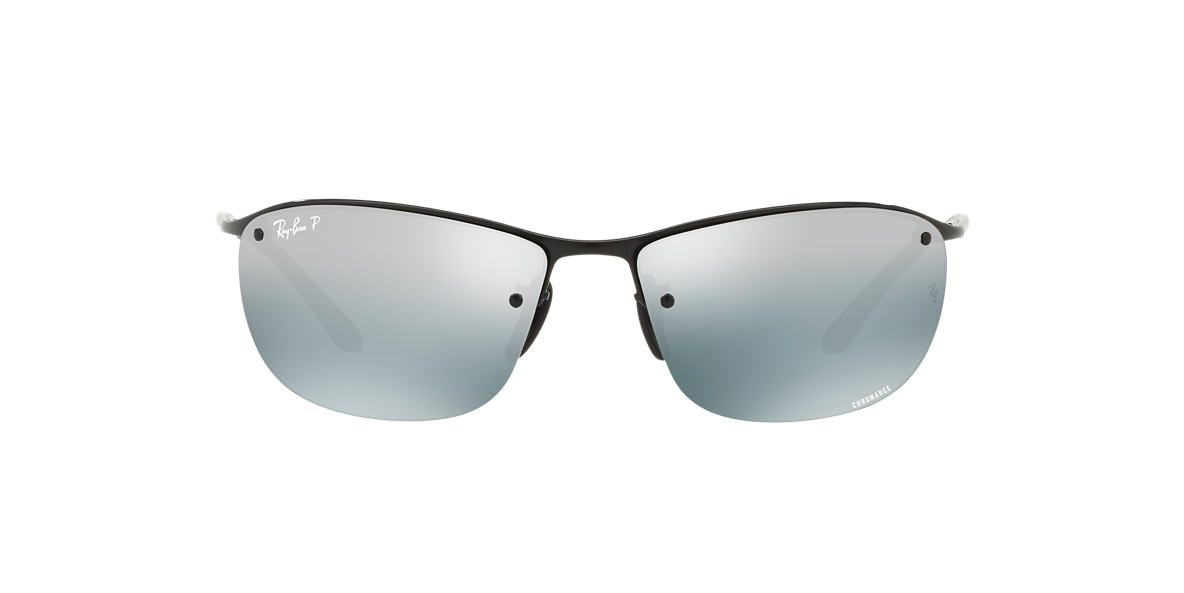 RAY-BAN Black RB3542 63 Grey polarized lenses 63mm
