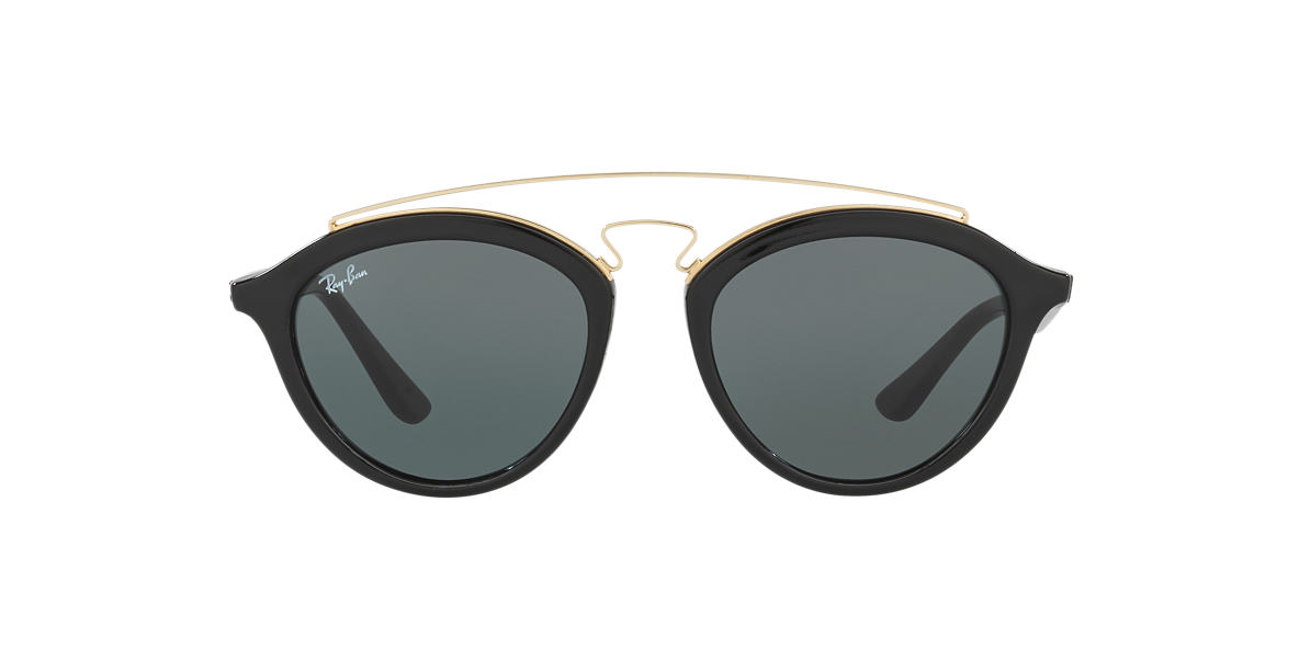 RAY-BAN Black RB4257 Green lenses 50mm