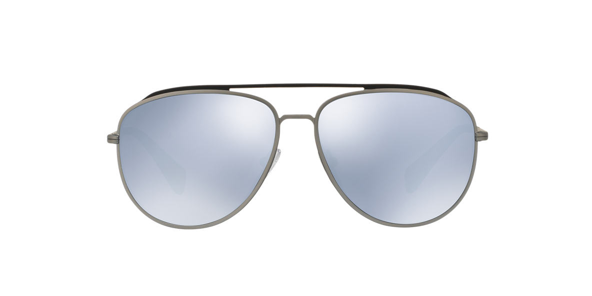 PRADA LINEA ROSSA Grey PS 55RS 59 Blue lenses 59mm